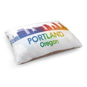 Decorative Dog Pet Beds | Angelina Vick - City I Portland Oregon