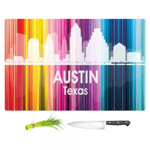 Artistic Kitchen Bar Cutting Boards | Angelina Vick - City II Austin Texas