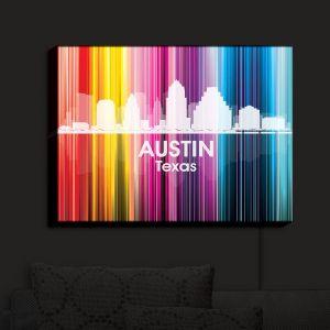 Nightlight Sconce Canvas Light | Angelina Vick - City II Austin Texas