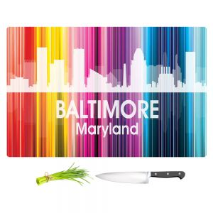 Artistic Kitchen Bar Cutting Boards | Angelina Vick - City II Baltimore Maryland