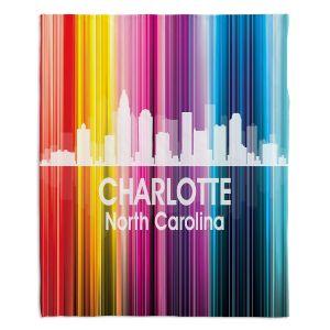 Decorative Fleece Throw Blankets | Angelina Vick - City II Charlotte North Carolina