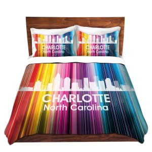 Artistic Duvet Covers and Shams Bedding | Angelina Vick - City II Charlotte North Carolina