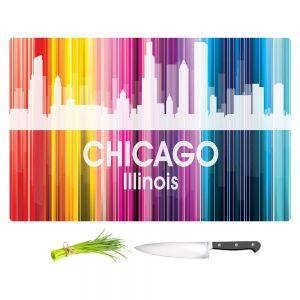 Artistic Kitchen Bar Cutting Boards | Angelina Vick - City II Chicago Illinois