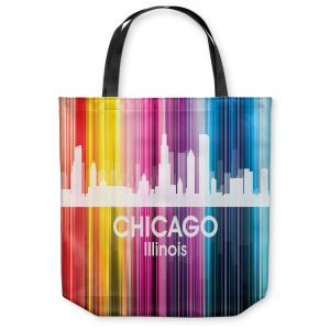 Unique Shoulder Bag Tote Bags | Angelina Vick City II Chicago Illinois
