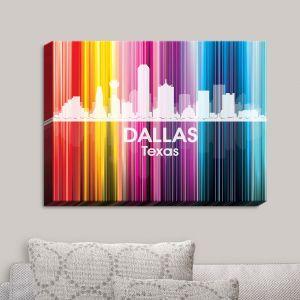 Decorative Canvas Wall Art   Angelina Vick - City II Dallas Texas
