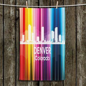 Unique Bathroom Towels | Angelina Vick - City II Denver Colorado