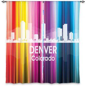 Decorative Window Treatments | Angelina Vick City II Denver Colorado