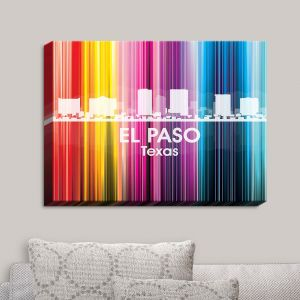 Decorative Canvas Wall Art   Angelina Vick - City II El Paso Texas