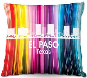 Decorative Outdoor Patio Pillow Cushion | Angelina Vick - City II El Paso Texas