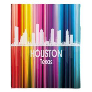 Decorative Fleece Throw Blankets | Angelina Vick - City II Houston Texas