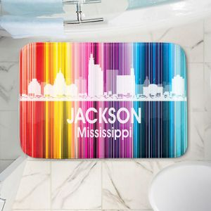 Decorative Bathroom Mats | Angelina Vick - City II Jackson Mississippi