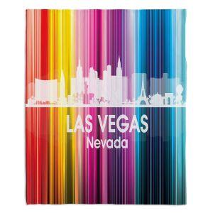 Decorative Fleece Throw Blankets | Angelina Vick - City II Las Vegas Nevada