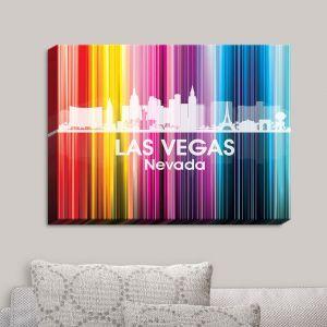 Decorative Canvas Wall Art   Angelina Vick - City II Las Vegas Nevada