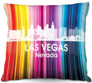 Decorative Outdoor Patio Pillow Cushion | Angelina Vick - City II Las Vegas Nevada