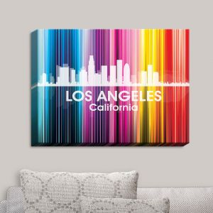 Decorative Canvas Wall Art | Angelina Vick - City II Los Angeles California