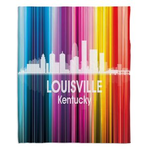 Decorative Fleece Throw Blankets | Angelina Vick - City II Louisville Kentucky