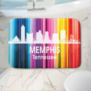 Decorative Bathroom Mats   Angelina Vick - City II Memphis Tennessee