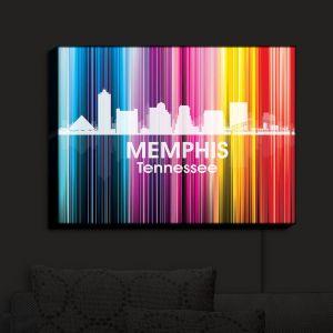 Nightlight Sconce Canvas Light   Angelina Vick - City II Memphis Tennessee