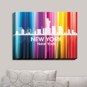 Decorative Canvas Wall Art | Angelina Vick - City II New York New York