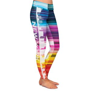 Casual Comfortable Leggings | Angelina Vick City II New York New York