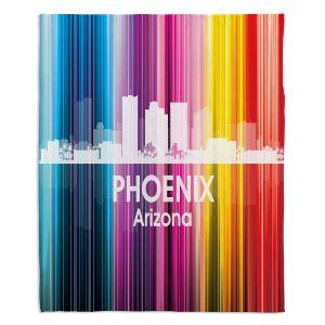 Decorative Fleece Throw Blankets | Angelina Vick - City II Phoenix Arizona