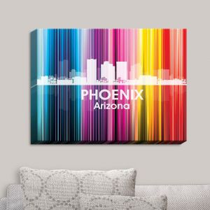 Decorative Canvas Wall Art | Angelina Vick - City II Phoenix Arizona
