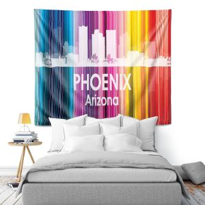 Artistic Wall Tapestry | Angelina Vick City II Phoenix Arizona