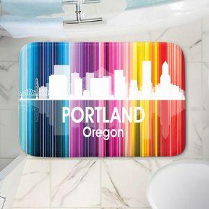 Decorative Bathroom Mats   Angelina Vick - City ll Portland Oregon