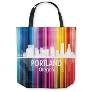 Unique Shoulder Bag Tote Bags   Angelina Vick - City ll Portland Oregon