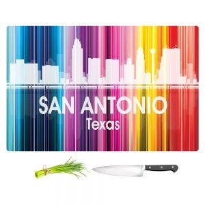 Artistic Kitchen Bar Cutting Boards | Angelina Vick - City II San Antonio Texas
