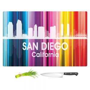 Artistic Kitchen Bar Cutting Boards | Angelina Vick - City II San Diego California