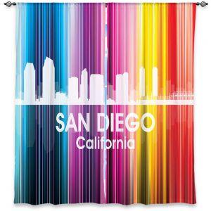 Decorative Window Treatments | Angelina Vick City II San Diego California