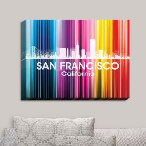 Decorative Canvas Wall Art | Angelina Vick - City II San Francisco California