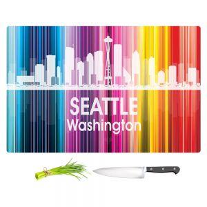 Artistic Kitchen Bar Cutting Boards | Angelina Vick - City II Seattle Washington