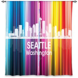 Decorative Window Treatments | Angelina Vick City II Seattle Washington