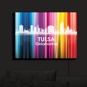 Nightlight Sconce Canvas Light | Angelina Vick - City II Tulsa Oklahoma