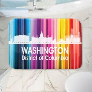 Decorative Bathroom Mats   Angelina Vick - City II Washington DC