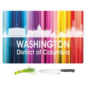 Artistic Kitchen Bar Cutting Boards | Angelina Vick - City II Washington DC