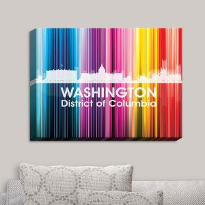 Decorative Canvas Wall Art | Angelina Vick - City II Washington DC