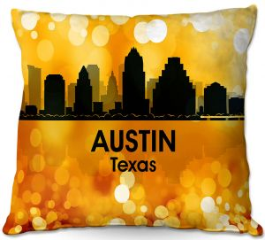 Decorative Outdoor Patio Pillow Cushion | Angelina Vick - City lll Austin Texas