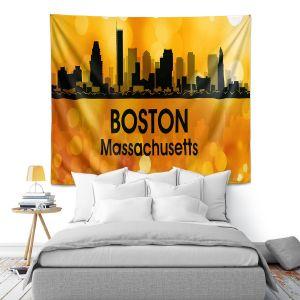 Artistic Wall Tapestry | Angelina Vick - City lll Boston Massachusetts