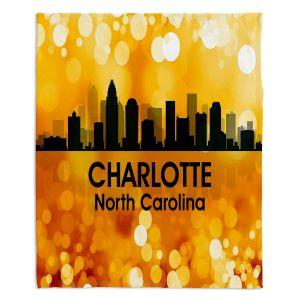 Decorative Fleece Throw Blankets | Angelina Vick - City lll Charlotte North Carolina