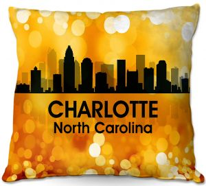 Throw Pillows Decorative Artistic | Angelina Vick - City lll Charlotte North Carolina