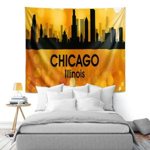 Artistic Wall Tapestry | Angelina Vick - City lll Chicago Illinois