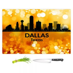 Artistic Kitchen Bar Cutting Boards | Angelina Vick - City lll Dallas Texas