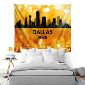 Artistic Wall Tapestry | Angelina Vick - City lll Dallas Texas