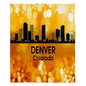Decorative Fleece Throw Blankets | Angelina Vick - City lll Denver Colorado