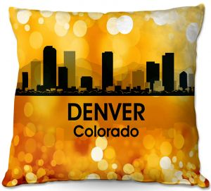 Decorative Outdoor Patio Pillow Cushion | Angelina Vick - City lll Denver Colorado