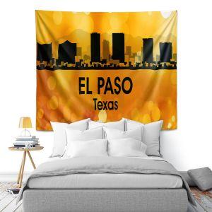 Artistic Wall Tapestry | Angelina Vick - City lll El Paso Texas