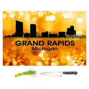 Artistic Kitchen Bar Cutting Boards | Angelina Vick - City lll Grand Rapids Michigan